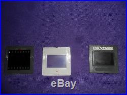 127 Glass Slide Mounts Gray/White 24x36mm 35mm frame PRINTING EQUIPMENT 3mm