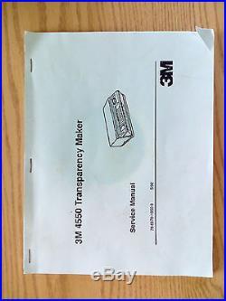 3m 4550 thermofax copier transparency maker silk screen maker used rh usedprintingequipment info 3M Thermofax Transparency Stencil Machine 3M Thermofax Repair