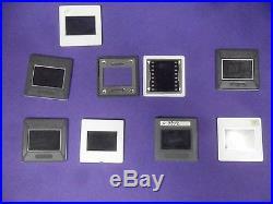 53 Glass Slide Mounts Gray/White 35mm 24x36mm PRINTING EQUIPMENT 2mm