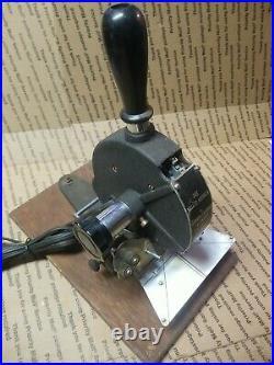 A THRU Z ROBERTS THE WALLET MARKER STAMP Hot Foil Stamping RARE NOT KINGSLEY