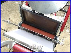 ADANA LETTERPRESS PRINTING MACHINE Model 8x5 in Full Working Order with rollers