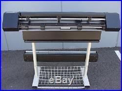 Allen Datagraph ADSI Model 536 Plus 36 Vinyl Plotter / Stencil Cutter System