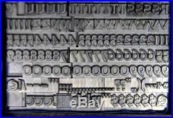 Alphabets Letterpress Print Type Import Berthold 24pt Solemnis ML70 4#