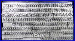 Alphabets Metal Letterpress Print Type Import ta 24pt Mistral ML45 7#