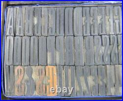 Alphabets WOOD Letterpress Type 6line 1 Antique XX Condensed MW18 2