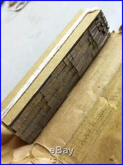 American Printing Equipment & Supply Co. Bernhard Gothic Medium 18pt. Hard Found