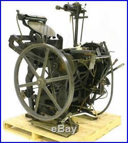 Antique 1920's Chandler & Price Co-Cleveland, Ohio Cast Iron Printing Equipment
