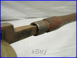 Antique Bookbinding Leather Gilding Finishing Brass Roller Fillet Tool Gaskill