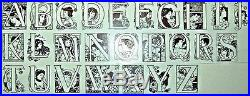 Art Nouveau Picture (full) Alphabet