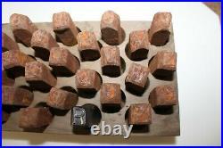 C. H. HANSON 25450 Reversed Letter Stamp Set Reversed 1/2 Used #955