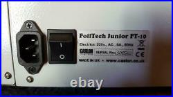 CASLON FoilTech Junior FT-10 hot foil stamping machine