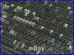 Century Schoolbook 10 pt Letterpress Type Metal Lead Printing Print Font