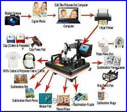 Combo Heat Press Machine Sublimation Printer 2D Transfer Printer Commercial Use