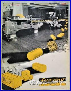 Doering Butter Printing & Print Room Equipment Advertising Sales Brochure 1949