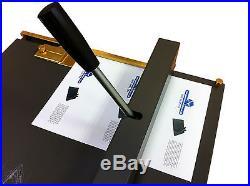Dual purpose A3 Creasing / Perforating Machine for Card & Paper CUSTOMER RETURN