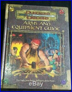 Dungeons & Dragons Arms & Equipment Guide, 1st Printing March 2003 VF+ Condition