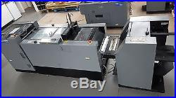 Duplo 4000 System, 2000 Sheet Feeder and Bookletmaker and Trimmer (d9) £10000 +