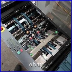 Duplo DFC-12 Collator with DBM120 Bookletmaker & DBM120T Trimmer (£5200 + VAT)