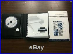 Epson Stylus Pro 4880 printer WORKING STUDIO + INK + book + ROLL FEED + PAPER