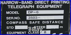 Furuno DP-6 Narrow Band Direct Printing Telegraph Equipment DP6 part of FS5000
