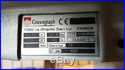 GRAVOGRAPH IS400 VEGA Mechanical Engraving Machine
