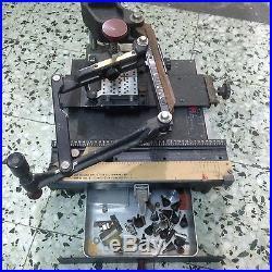 GRAVOGRAPH Vigor NEW HERMES ENGRAVING MACHINE ENGRAVER Engravograph used rare