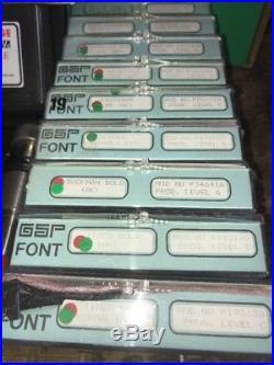 Gerber Scientific SignMaker Sign Maker 3 4 4B with 9 Fonts LMK Program Module IVb