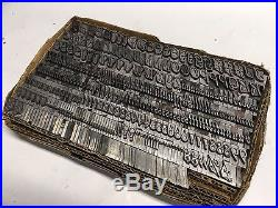 Grayda 48 pt Letterpress Type Vintage Printer's Lead Metal Type ATF 678