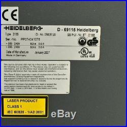 Heidelberg Prosetter 2165 05805120 Unit is Working but No Computer