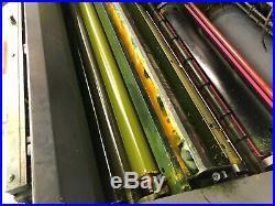 Heidelberg SM 74-4P3+L Four Color Offset press- Komori-Ryobi -Hamada-Shinohara