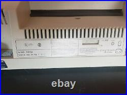 Hewlett Packard Plotter 7470A HP and Cords