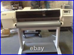Hewlett packard designjet 2500cp injet printer plotter