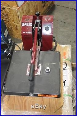 Hix Basix B-400 T-shirt Press WORKING