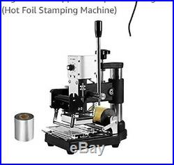 Hot Foil Stamping Machine Foil 300W PVC Card Embossing