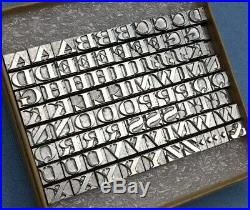 Howard Machine (24pt. Engravers Bold Initials) Hot Foil Stamping Machine