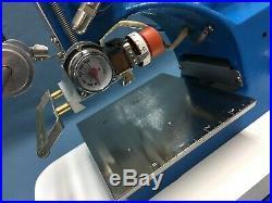 Howard Machine (Model 45 Personalizer & TS-95 Holder) Hot Foil Stamping Machine