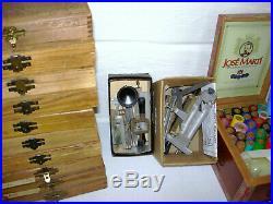 Howard  Model J150 Hot Foil Stamping Machine / 17 Boxes Stamps / 60 Rolls Foil