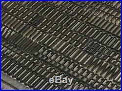 Huxley Vertical 18 pt Letterpress Type Vintage Metal Lead Sorts Font Fonts