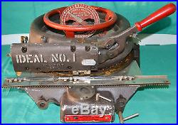 Ideal Model 1 Stencil Cutting Machine Press Punch