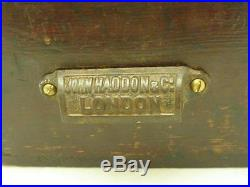 John Haddon & Co. London- Caxton Type Foundry- Vintage Letterpress Chemicals Box
