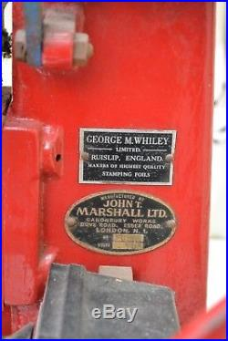 John T Marshall Manual Hot Foiling Machine Press 5 Series