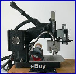 KINGSLEY HOT FOIL STAMPER model M-101 series H xlnt NO RESERVE