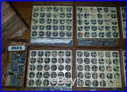KINGSLEY Hot Foil Stamping Machine HUGE LOT plus 14 cases type L@@K