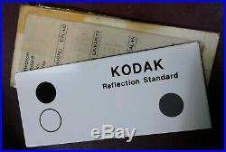 KODAK MODEL 1 Densitometer with Reflection Standard & Transmission Check Plaques
