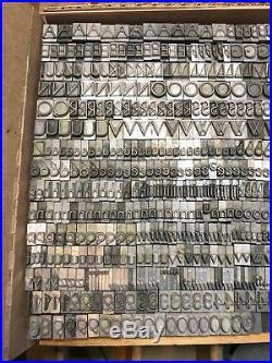 Kabel Letterpress Type 24 Pt