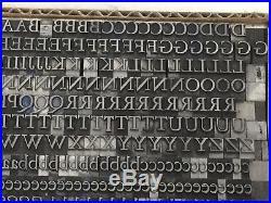 Kennerley 18 pt Metal Type Printers Type Letterpress Type