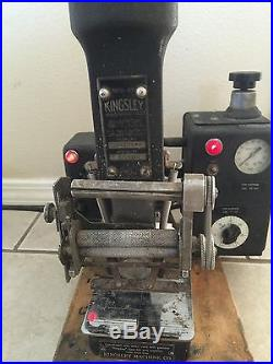 Kingsley Hot Foil Embossing Stamping Machine AM-100-W