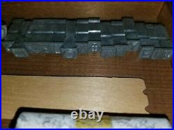 Kingsley Hot Foil Machine Type RARE Greek Letters AND Kingsley Emblems