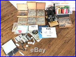 Kingsley Hot Foil Stamping M-101 Machine with Tons Of Accessories Letters