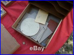 Kingsley Hot Foil Stamping Machine M-60 LOTS OF EXTRAS PLEASE CK PICS TESTED